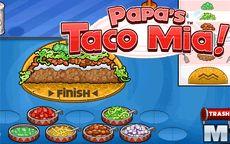 Juegos De Cocinar Online   Juego De Cocinar Tacos Papa S Taco Mia Macrojuegos Com