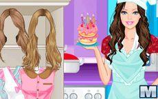 Juego De Cocina De Barbie Chef Spaguetti Macrojuegos Com