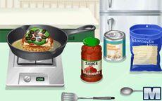 Cocina Con Sara Hamburguesa De Pizza Macrojuegos Com