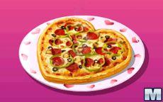 Cocina Con Sara Pizza De San Valentin Macrojuegos Com